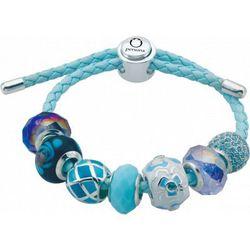 Persona Aqua leather bracelet