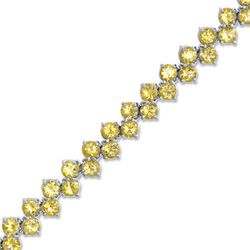 Citrine Zig Zag bracelet